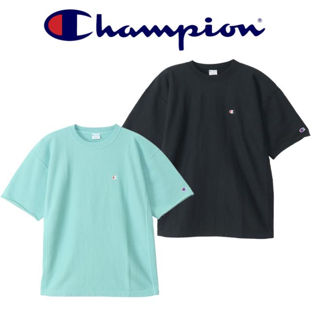 CHAMPION(チャンピオン) REVERSE WEAVE S/S C/N SWEATSHIRT ショートスリーブスウェットシャツ 【REVERSE WEAVE リバースウィーブ
