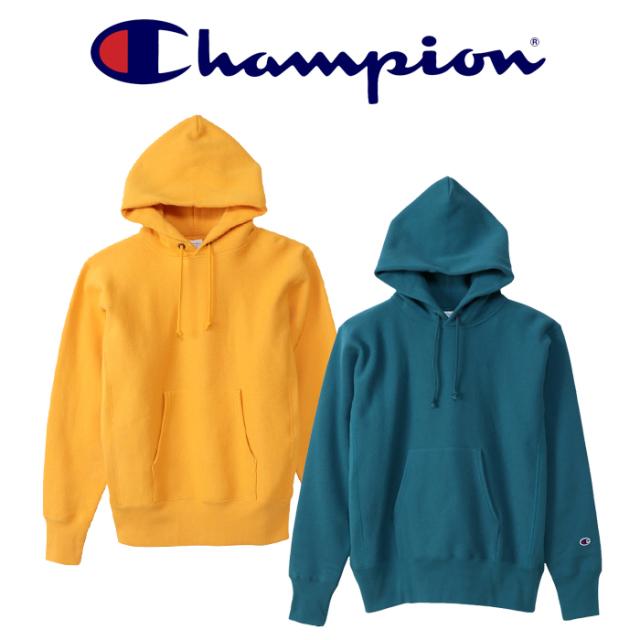 CHAMPION (チャンピオン)  REVERSEWEAVE(青タグ)プルオーバースウェットパーカー(11.5oz)  【リバースウィーブ】【C3-W102】【2021