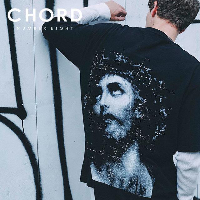 CHORD NUMBER EIGHT(コードナンバーエイト) CHRIST BIG TEE 【2019SPRING/SUMMER先行予約】 【キャンセル不可】【N8M1K1-CS12】