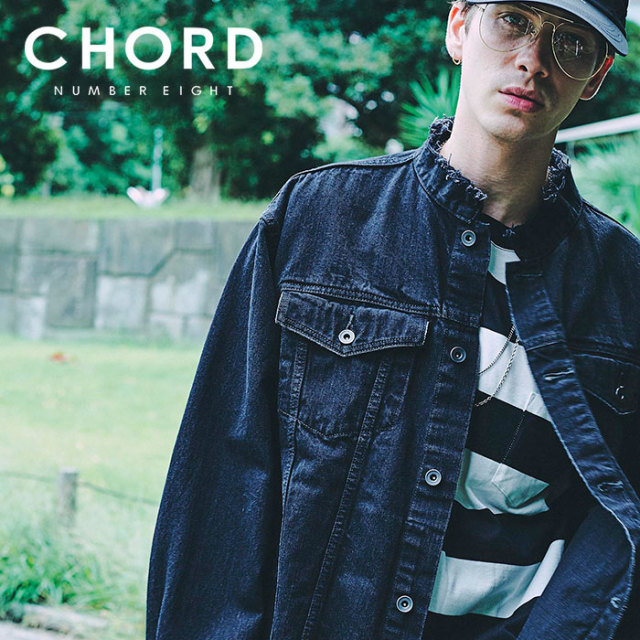 CHORD NUMBER EIGHT(コードナンバーエイト) OVERSIZED DENIM JACKET 【2019SPRING/SUMMER先行予約】 【キャンセル不可】【N8M1K1-