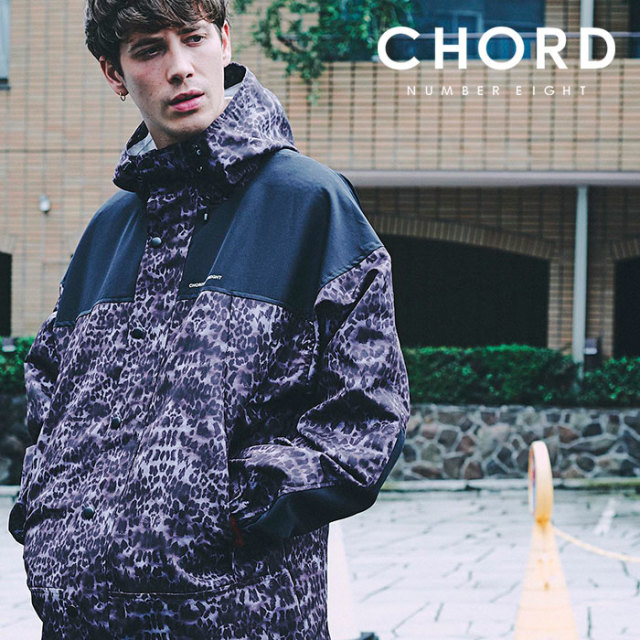 CHORD NUMBER EIGHT(コードナンバーエイト) LEOPARD BALLOON MOUNTAIN PARKA 【2019SPRING/SUMMER先行予約】 【キャンセル不可】