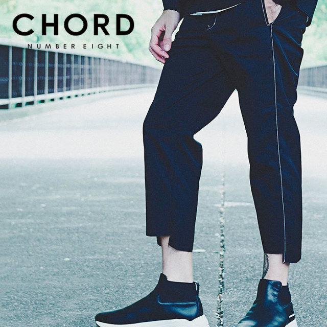 CHORD NUMBER EIGHT(コードナンバーエイト) ONE TUCK CROPPED WORK PANTS 【2019SPRING/SUMMER先行予約】 【キャンセル不可】【N8