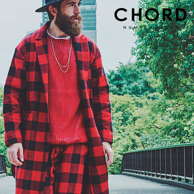 CHORD NUMBER EIGHT(コードナンバーエイト) BLOCK CHECK GOWN SHIRT 【2019SPRING/SUMMER先行予約】 【キャンセル不可】【N8M1K1-