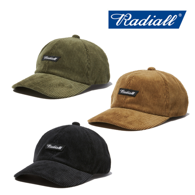 RADIALL(ラディアル) FLAGS-BASEBALL LOW CAP 【2019 AUTUMN&WINTER COLLECTION】 【RAD-19AW-HAT009】【ローキャップ】【帽子】