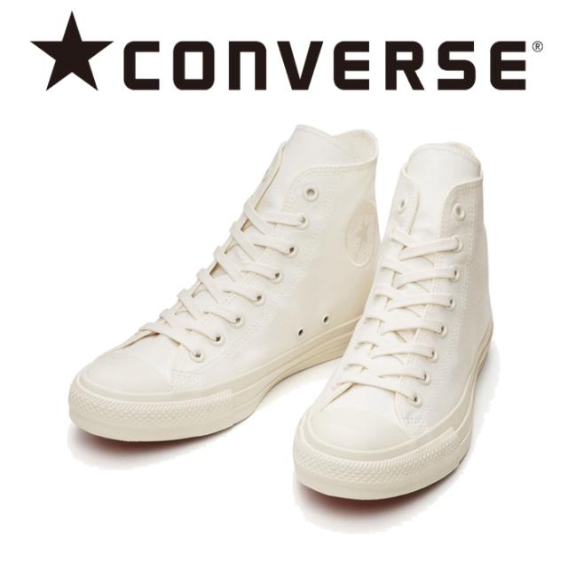 CONVERSE (コンバース)  ALL STAR 100 WHITEPLUS HI 【24,5cm即発送可能】【スニーカー コンバース】【キャンバス オールスター