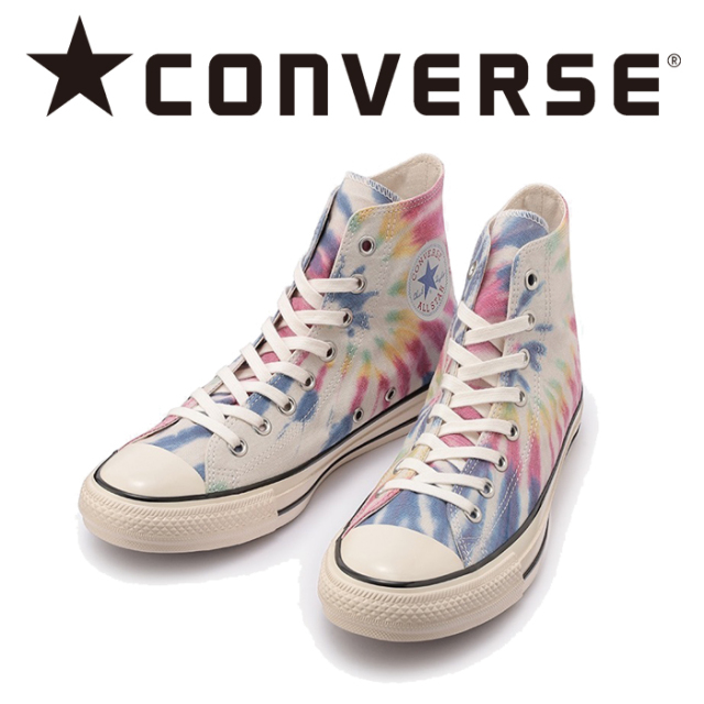 CONVERSE (コンバース)  ALL STAR US TIE-DYE LOCALIZE HI オールスター タイダイ ローカライズ ハイ 【スニーカー コンバース ハ