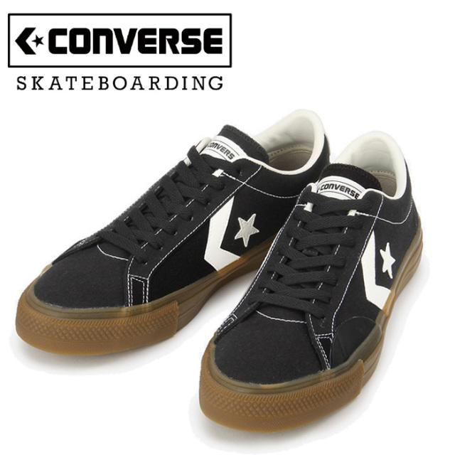【再入荷!!】CONVERSE SKATEBOADING(コンバース スケートボーディング) PRORIDE SK CV OX (BLACK) 【スニーカー】【コンバース】【
