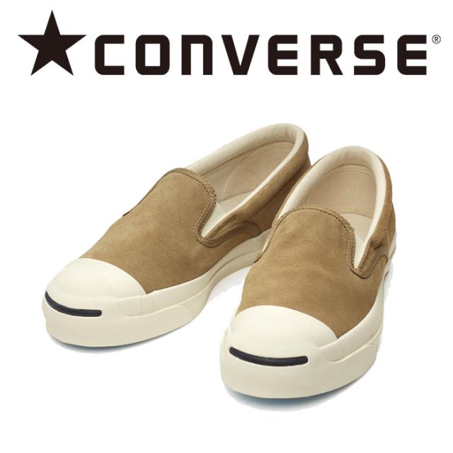 CONVERSE (コンバース)  JACK PURCELL RET SUEDE SLIP-ON 【スニーカー コンバース】【ジャックパーセル RET スエード スリ