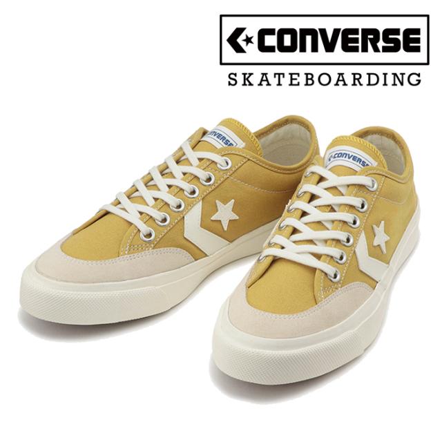 CONVERSE SKATEBOADING(コンバース スケートボーディング) COURTCANVAS SK CV OX 【スニーカー コンバース】【ゴールド イエロー】