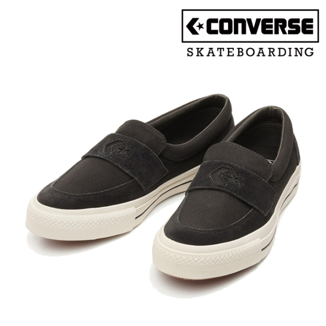 CONVERSE SKATEBOADING(コンバース スケートボーディング) CS LOAFER SK 【スニーカー】【コンバース】【ローファー】【ブラック】
