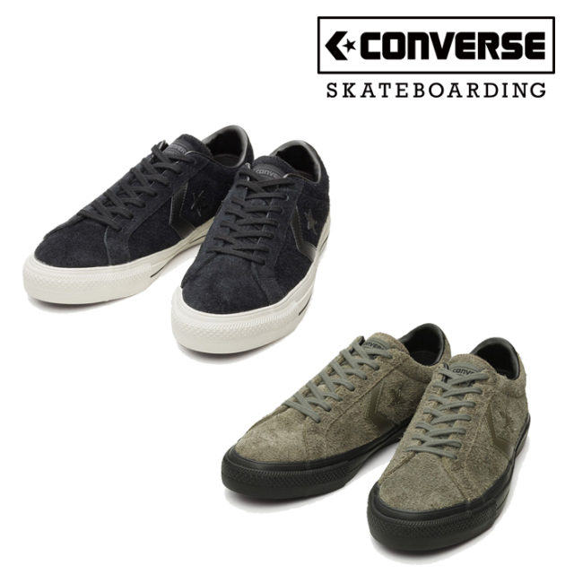 CONVERSE SKATEBOADING (コンバース スケートボーディング)  PRORIDE SK OX +  プロライド スニーカー コンバース ブラック ダー