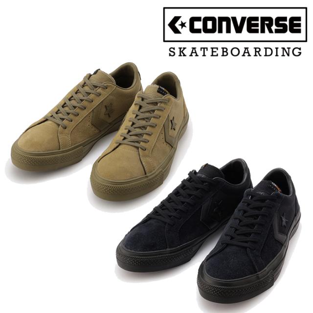 CONVERSE SKATEBOADING (コンバース スケートボーディング)  PRORIDE SK CORDURA OX +  スニーカー コンバース プロライド ブラッ