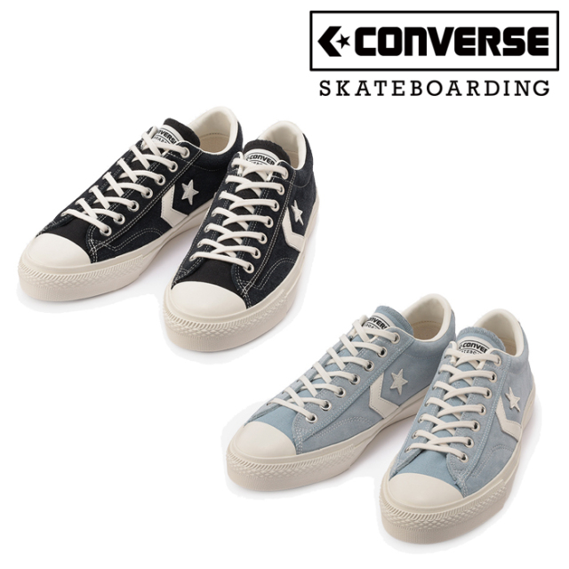 CONVERSE SKATEBOADING (コンバース スケートボーディング)  BREAKSTAR SK OX +  スニーカー コンバース ブレイクスター ブラック