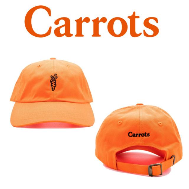 "CARROTS(キャロッツ) SIGNATURE BL CAP 【""Carrots"" -by Anwar Carrots-】【2018FALL COLLECTION】 【キャップ】【CFA18-SBC】"