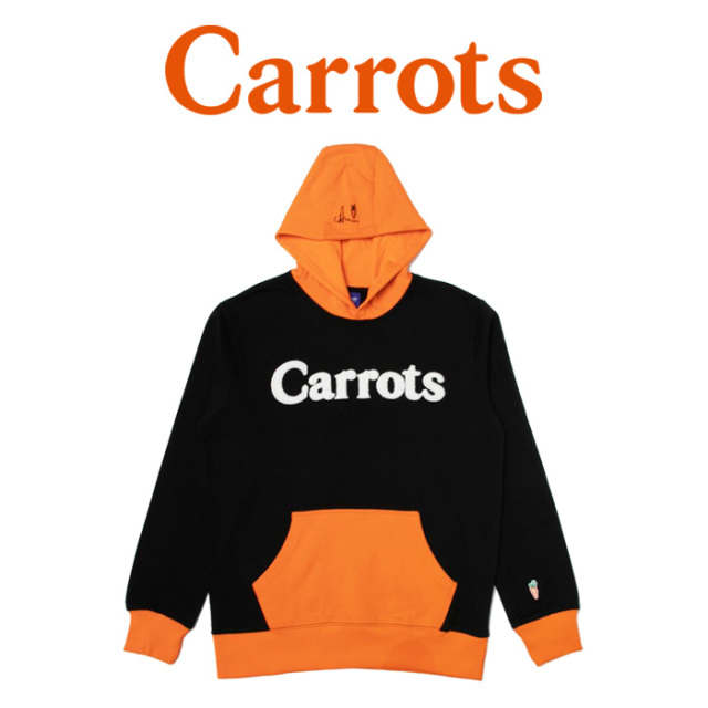 "CARROTS(キャロッツ) WORDMARK HOODIE 【""Carrots"" -by Anwar Carrots-】【2018FALL COLLECTION】 【パーカー】【CFA18-WMH】"