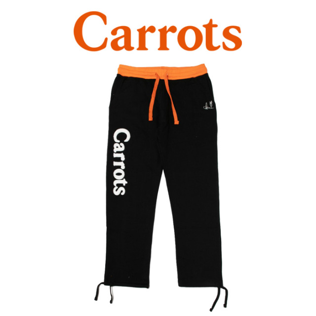 "CARROTS(キャロッツ) WORDMARK SWEATPANTS 【""Carrots"" -by Anwar Carrots-】【2018FALL COLLECTION】 【パンツ】【CFA18-WMSP】"