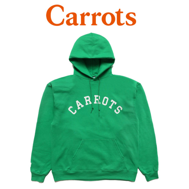 "CARROTS(キャロッツ) CHAMPION COLLEGIATE HOODIE  【""Carrots"" -by Anwar Carrots-】【2018FALL COLLECTION】 【パーカー】【CHA"