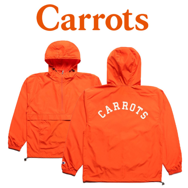 "CARROTS(キャロッツ) CARROTS UNIVERSITY ANORAK JACKET 【""Carrots"" -by Anwar Carrots-】 【アノラック】【CHAMP-CUAJK】 【ナ"