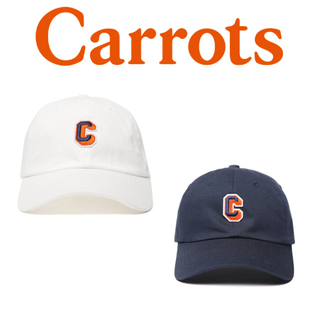 "CARROTS(キャロッツ) CARROTS UNIVERSITY BALL CAP 【""Carrots"" -by Anwar Carrots-】【2018FALL COLLECTION】 【キャップ】【CHA"