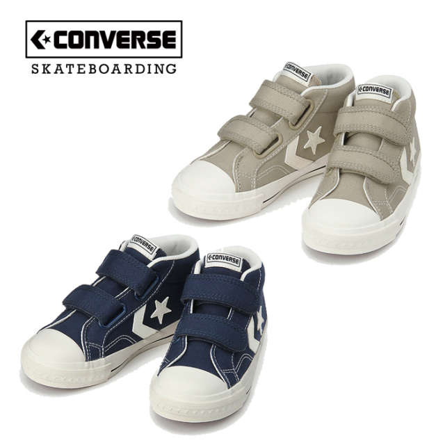 CONVERSE SKATEBOADING(コンバース スケートボーディング) KID'S CX-PRO SK V-2 MID 【スニーカー】【コンバース】【34200100】【