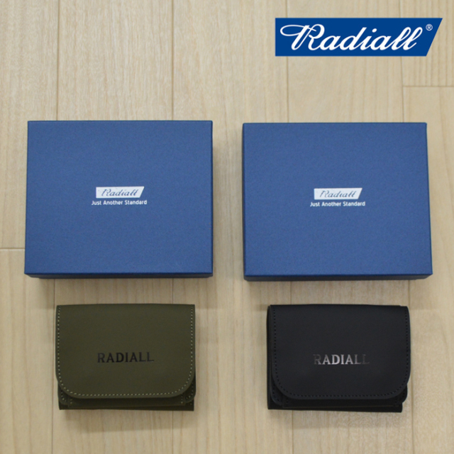 RADIALL(ラディアル) FROSTED - TRIFOLD WALLET 【2019 A/W COLLECTION新作】 【RADIALL ウォレット】 【RAD-19AW-ACC002】