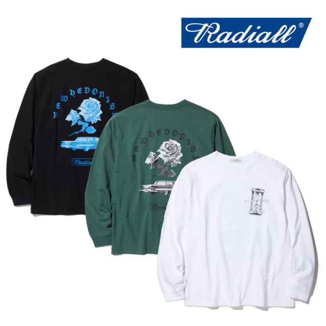 RADIALL(ラディアル) MATTER - CREW NECK T-SHIRT L/S 【2019 AUTUMN & WINTER COLLECTION】 【RAD-19AW-CUT018】【ロングスリー
