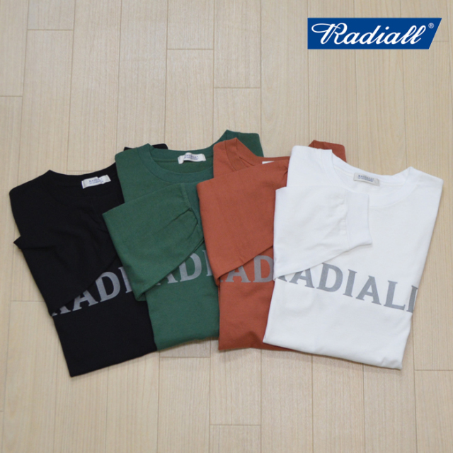 RADIALL(ラディアル) LOGOTYPE - CREW NECK T-SHIRT L/S 【2019 AUTUMN & WINTER COLLECTION】 【RAD-19AW-CUT019】【ロングスリ