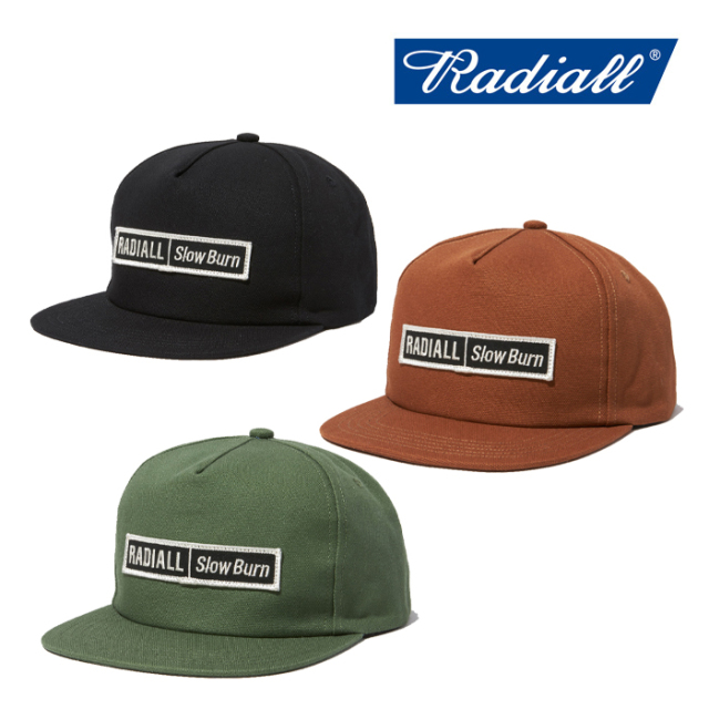 RADIALL(ラディアル) SLOW BURN-TRUCKER CAP 【2019 AUTUMN&WINTER COLLECTION】 【RAD-19AW-HAT001】【トラッカーキャップ】