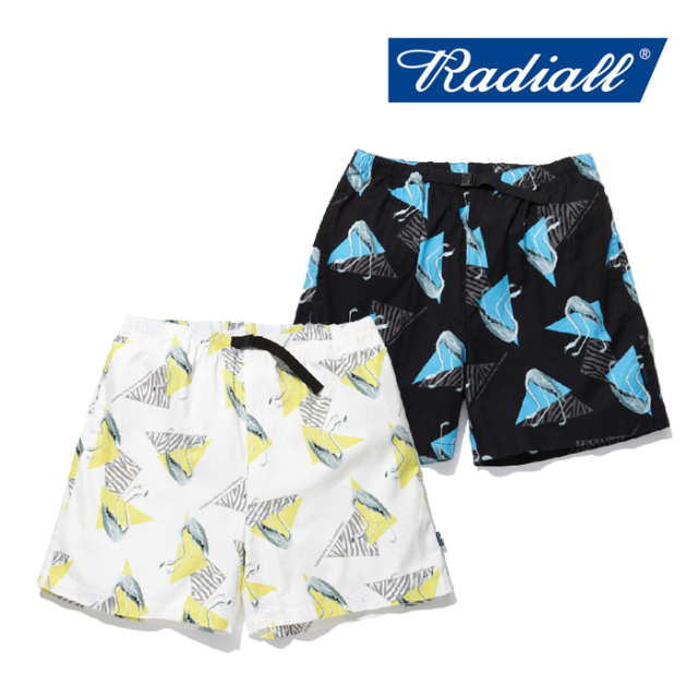 RADIALL(ラディアル) FLAMINGO-EASY SHORTS 【2019 SPRING&SUMMER COLLECTION】 【RAD-19SS-PT005】【イージーショーツ】