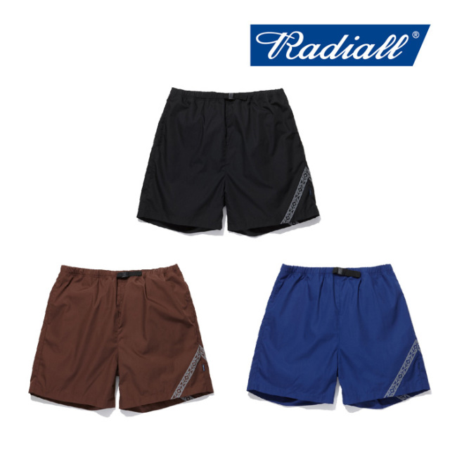 RADIALL(ラディアル) TAURUS-EASY SHORTS 【2019 SPRING&SUMMER COLLECTION】 【RAD-19SS-PT007】【ショーツ】