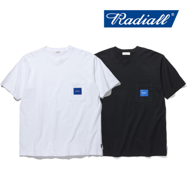 RADIALL(ラディアル) SQUARE-CREW NECK POCKET T-SHIRTS S/S 【2019 SPRING&SUMMER COLLECTION】 【RAD-19SS-TEE011】【Tシャツ】