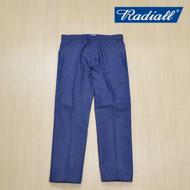 RADIALL(ラディアル) CVS DENIM - STRAIGHT FIT WORK PANTS 【2019 A/W COLLECTION新作】 【RADIALL ワークパンツ】 【RADCVS-PT