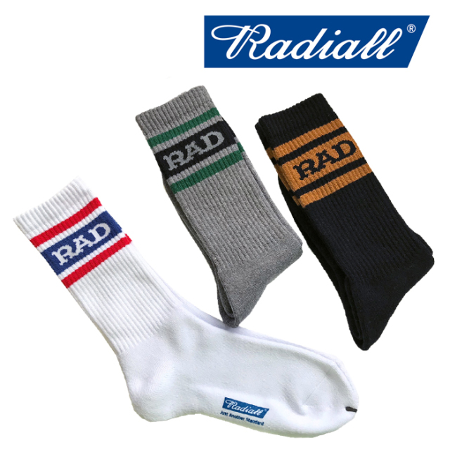 RADIALL(ラディアル) 2PAC SOX-HI KICK 【2019 SPRING&SUMMER COLLECTION】 【RAD-PAC031】【ソックス 靴下】