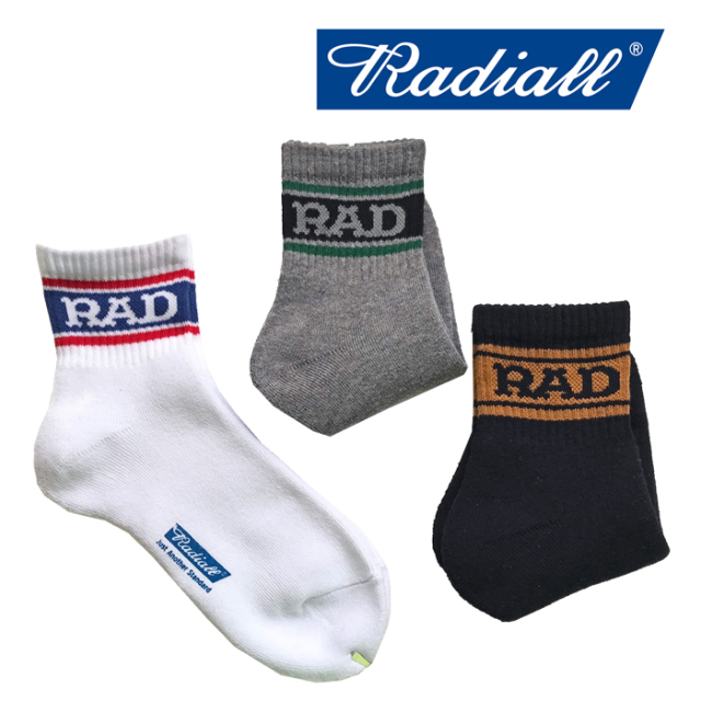 RADIALL(ラディアル) 2PAC SOX-LOW KICK 【2019 SPRING&SUMMER COLLECTION】 【RAD-PAC032】【ソックス 靴下】