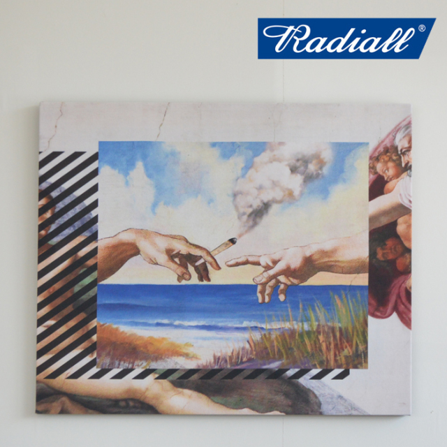 RADIALL(ラディアル) HEAVEN'S DOO-PRINTED CANVAS 【RAD-19SS-SPOT-ACC001】
