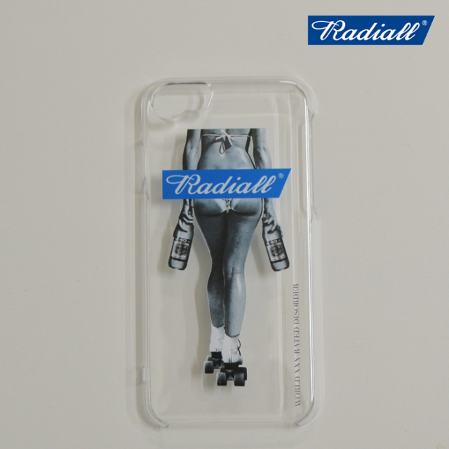 RADIALL(ラディアル) FOURTY OZ LADY-IPHONE CASE for 6/6s/7/8 【2019 SPRING&SUMMER SPOT COLLECTION】 【RAD-19SS-SPOT-ACC003