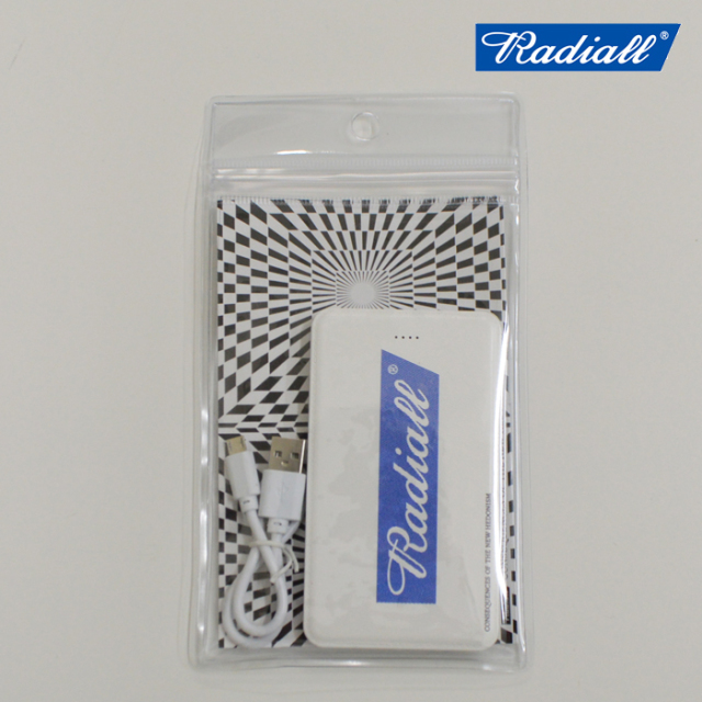 RADIALL(ラディアル) FLAGS-MOBILE BATTERY 【モバイルバッテリー】 【2019 SPRING&SUMMER SPOT COLLECTION】【RAD-19SS-SPOT-ACC