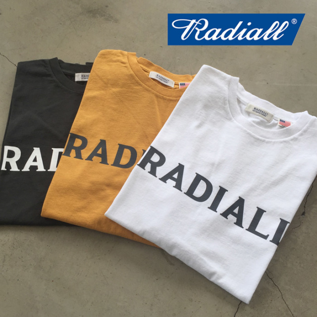 【SALE30%OFF】 RADIALL(ラディアル) LOGO TYPE- CREW NECK T-SHIRTS S/S 【セール】【2019 SPRING&SUMMER SPOT】 【RAD-19SS-SP