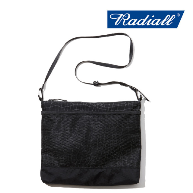 RADIALL(ラディアル) SMOKEY CAMPER SHOULDER BAG/SPIDER 【2019 A/W COLLECTION】 【RAD-XPC006】【ショルダーバッグ】