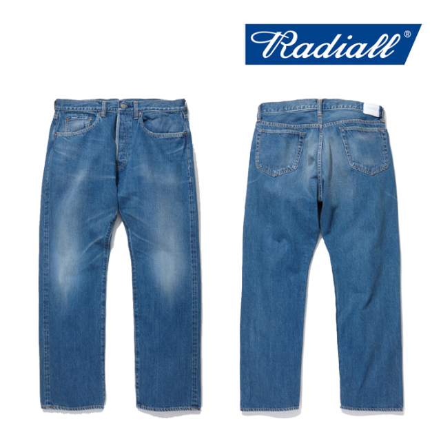 RADIALL(ラディアル) KUSTOM 350B-STRAIGHT FIT PANTS 【2019 SPRING&SUMMER COLLECTION】 【RAD-19SS-PT008-02】【デニム】