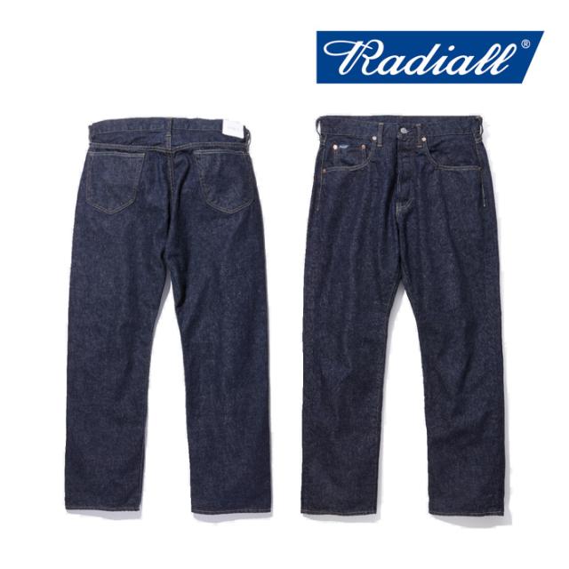 RADIALL(ラディアル) KUSTOM 350B-STRAIGHT FIT PANTS 【2019 AUTUMN&WINTER COLLECTION】 【RAD-DNM-PT008-01】【デニムパンツ】