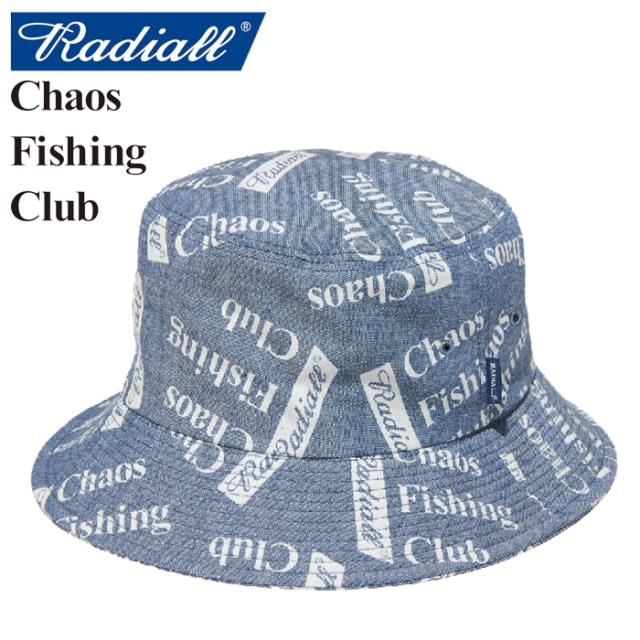 RADIALL(ラディアル)×CHAOS FISHING CLUB(カオス フィッシングクラブ) BLUE HOURS-BUCKET HAT 【2019 SPRING&SUMMER SPOT COLLECTI
