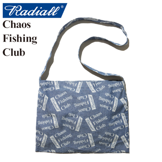 RADIALL(ラディアル)×CHAOS FISHING CLUB(カオス フィッシングクラブ) BLUE HOURS-SHOULDER BAG 【2019 SPRING&SUMMER SPOT COLLEC