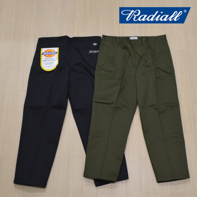 RADIALL(ラディアル) THAT BEAT-WIDE FIT EASY PANTS 【2019 SPRING&SUMMER SPOT COLLECTION】 【RAD-19SS-SPOT-JW007】【dickies