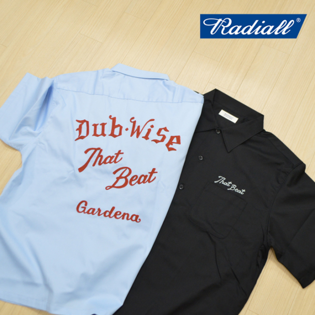RADIALL(ラディアル) THAT BEAT-OPEN COLLARED  SHIRT S/S 【2019 SPRING&SUMMER SPOT COLLECTION】 【RAD-19SS-SPOT-SH001】【半