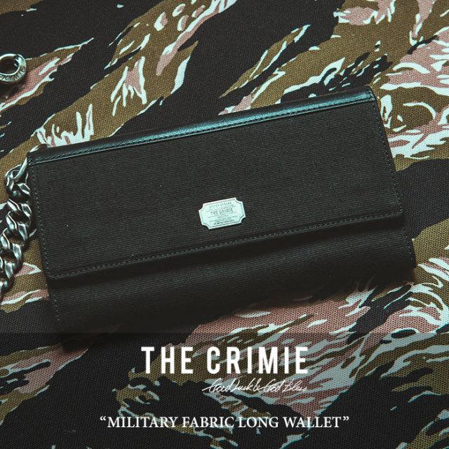 CRIMIE(クライミー) MILITARY FABRIC LONG WALLET 【2018 SUMMER新作】【C1H3-AC03】