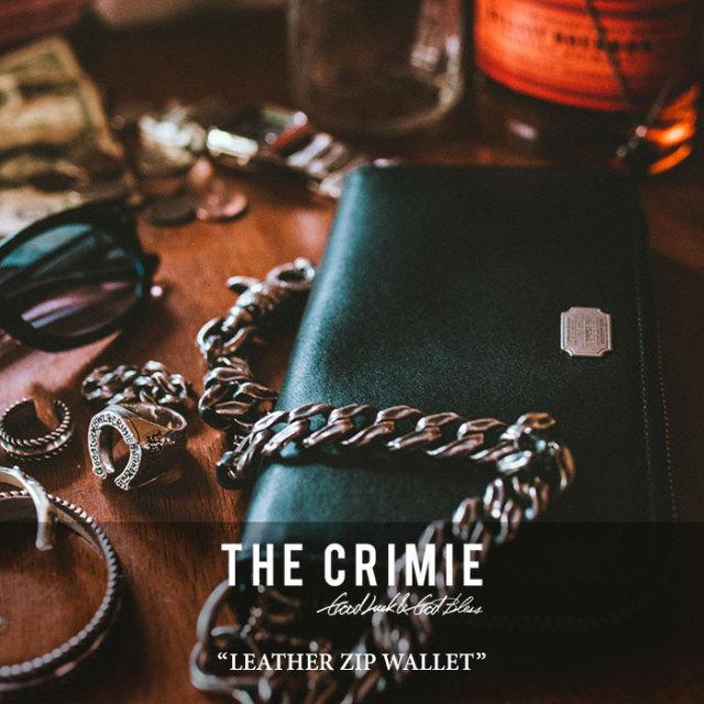CRIMIE(クライミー) LEATHER ZIP WALLET 【2018 SUMMER新作】【C1H3-AC09】