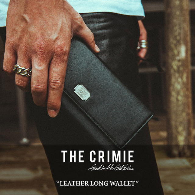 CRIMIE(クライミー) LEATHER LONG WALLET 【2018 SUMMER先行予約】 【送料無料】【キャンセル不可】 【C1H3-AC10】