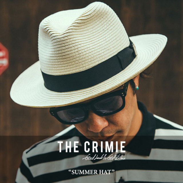 CRIMIE(クライミー) SUMMER HAT 【2018 SUMMER新作】 【送料無料】【即発送可能】 【C1H3-CP02】