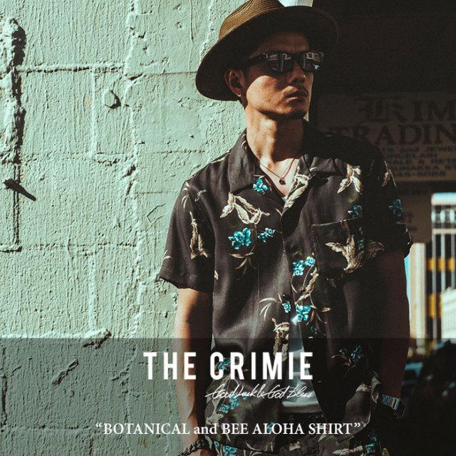 CRIMIE(クライミー) BOTANICAL and BEE ALOHA SHIRT 【2018 SUMMER新作】【C1H3-SH15】